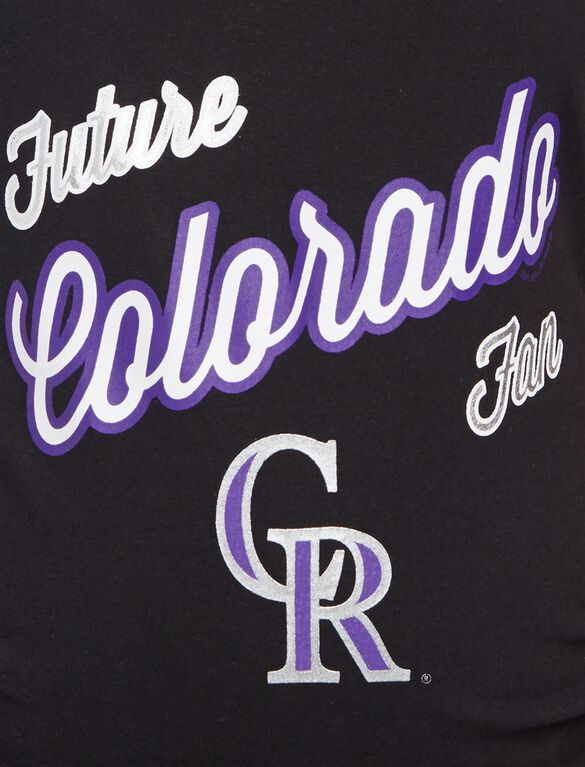 Colorado Rockies MLB Future Fan Maternity Tank, Rockies Black