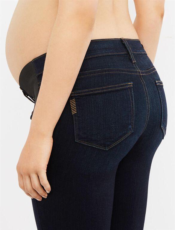 Paige Side Panel Verdugo Ankle Maternity Jeans, Mona