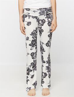 Maternity Sleep Pant, Floral