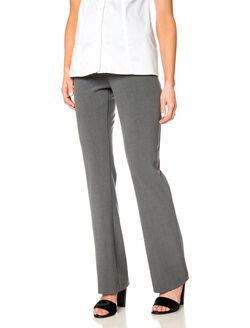 Bounceback Post Pregnancy Pants, Heather Grey