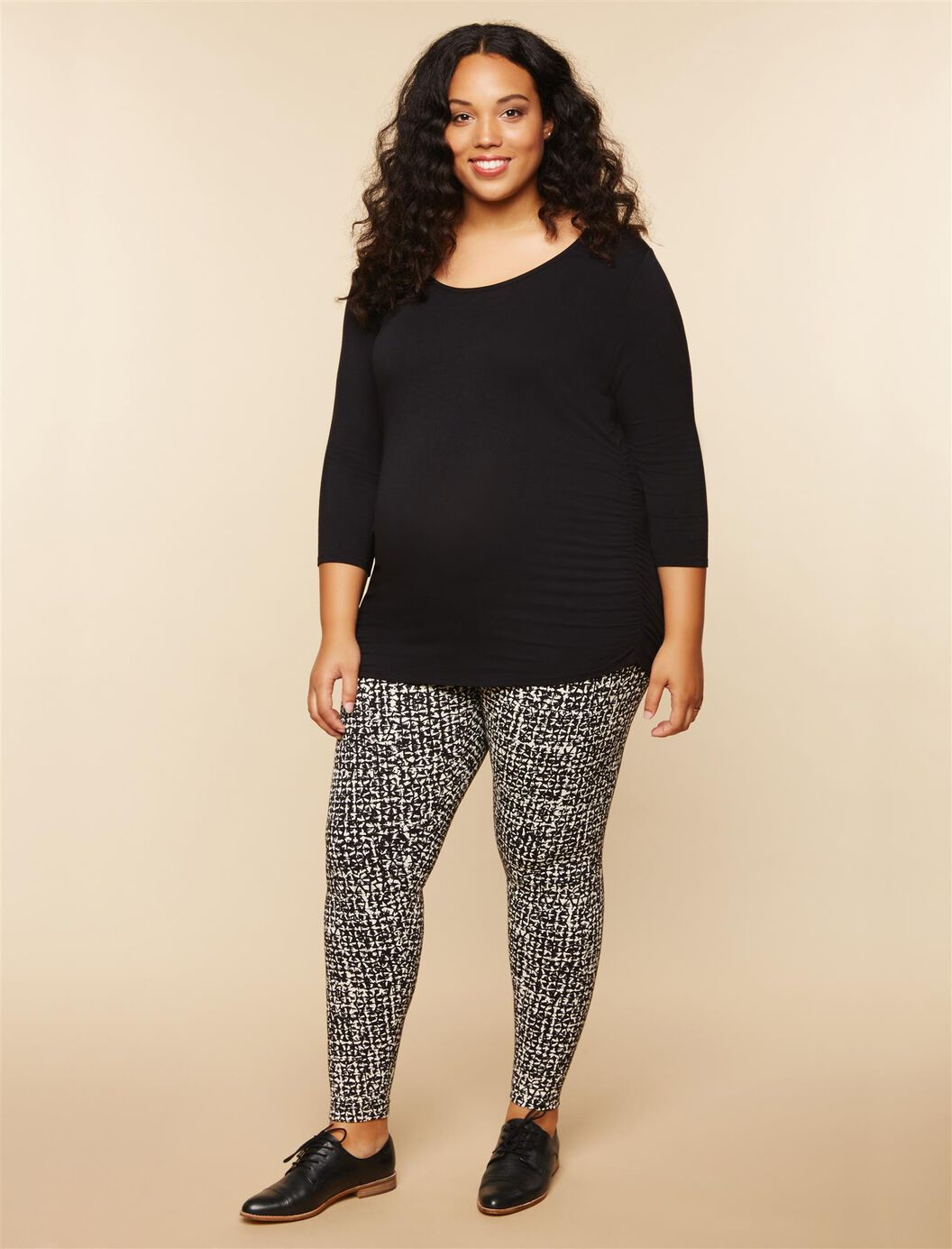 Plus Size Secret Fit Belly Maternity Leggings at Motherhood Maternity in Victor, NY | Tuggl