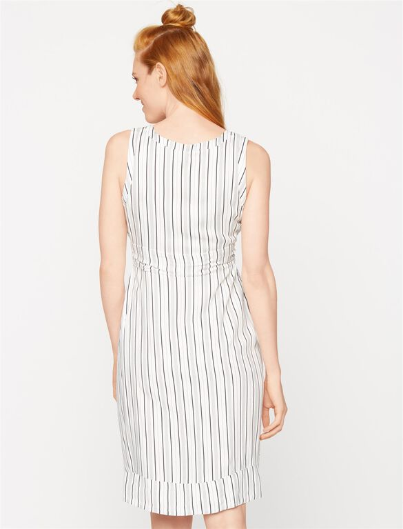 Isabella Oliver Burnell Maternity Dress, Multi Stripe