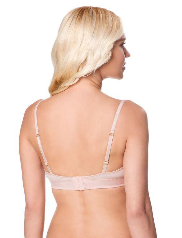 Seamless Clip Down Nursing Bra, Ballet Pink