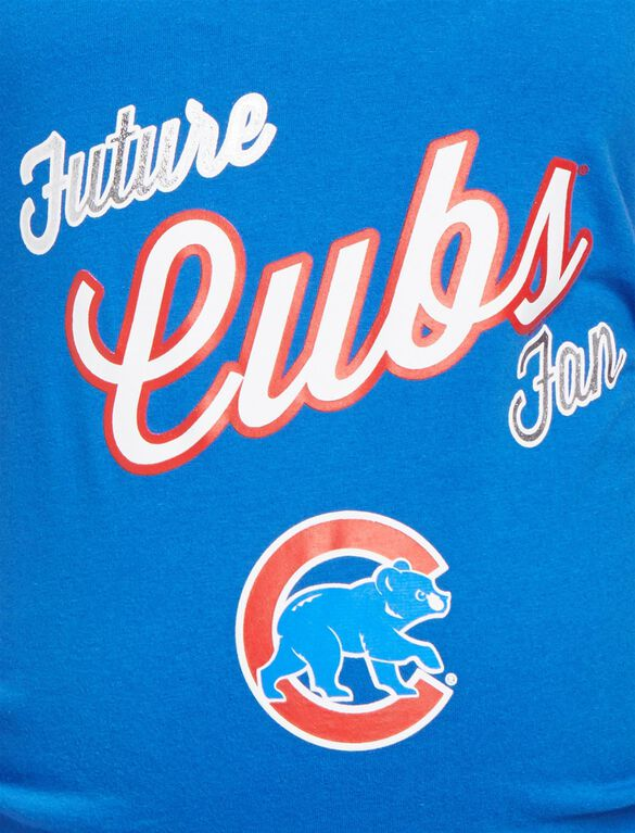 Chicago Cubs MLB Future Fan Maternity Tank, Cubs Blue