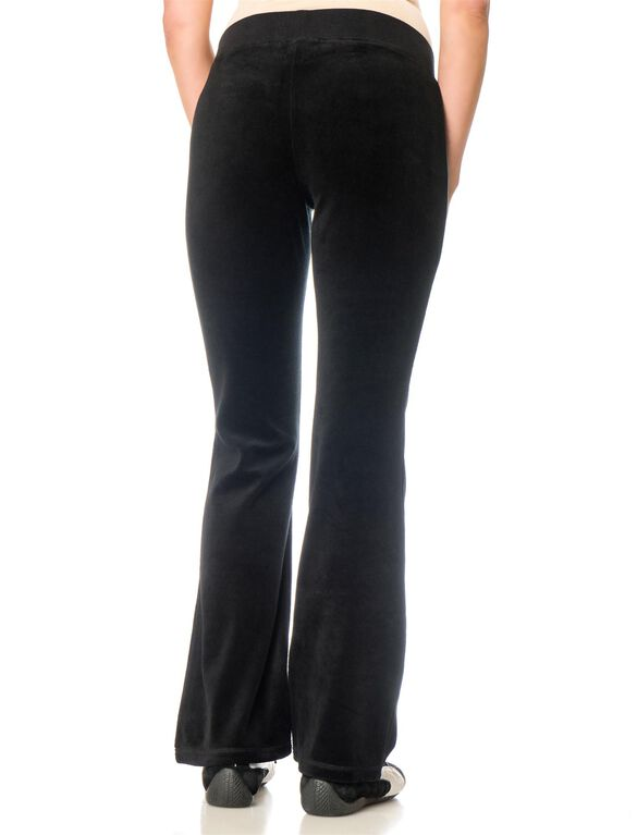Under Belly Cozy Maternity Active Pants, Black