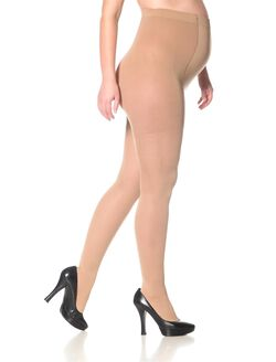 Sigvaris Compression Maternity Tights, Nude