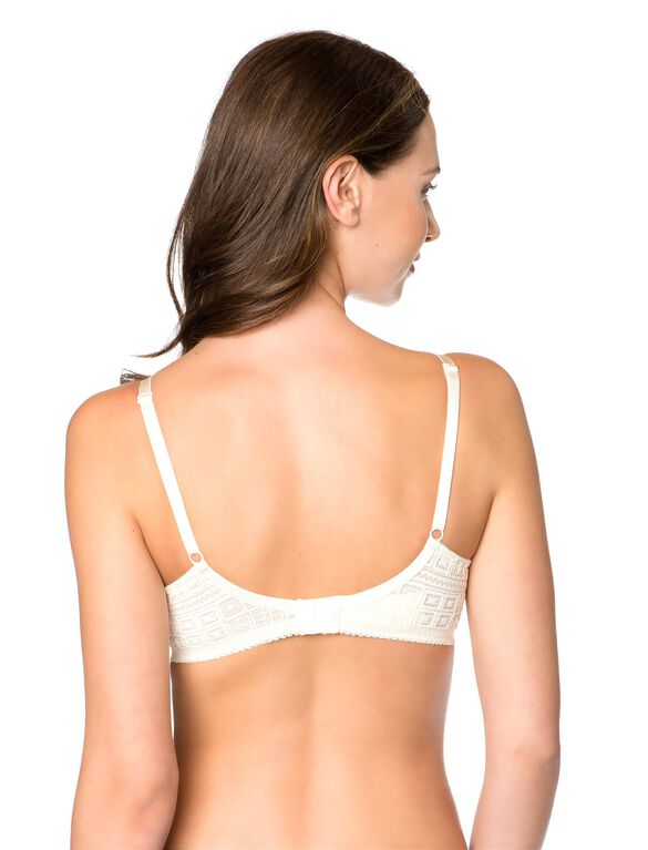 Soft Cup Underwire Full Coverage Nursing Bra, Dew