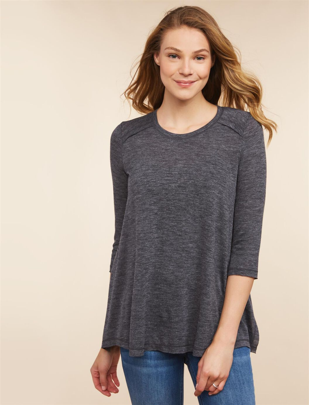 Jessica Simpson Pull Over Side Slit Nursing Top at Motherhood Maternity in Victor, NY | Tuggl