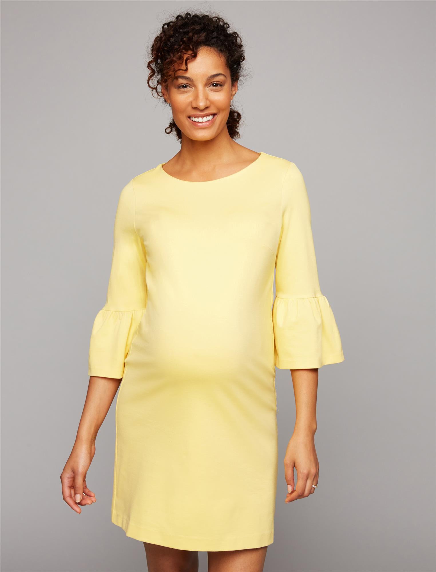 Pietro Brunelli Bell Sleeve Maternity Dress