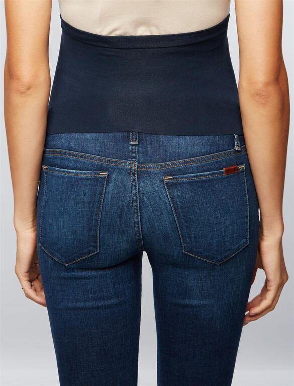 Joe's Secret Fit Belly Straight Leg Maternity Crop Jeans, Dark Wash