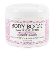 Body Boost by Basq Raw Sugar Scrub- Lavender Vanilla, Lav/Van