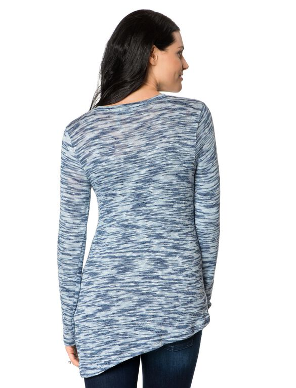 Splendid Lightweight Maternity Shirt, Chambray/Indigo