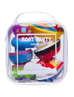 Bath Squirties Baby Bath Toy Set By Elegant Baby, Boat Party