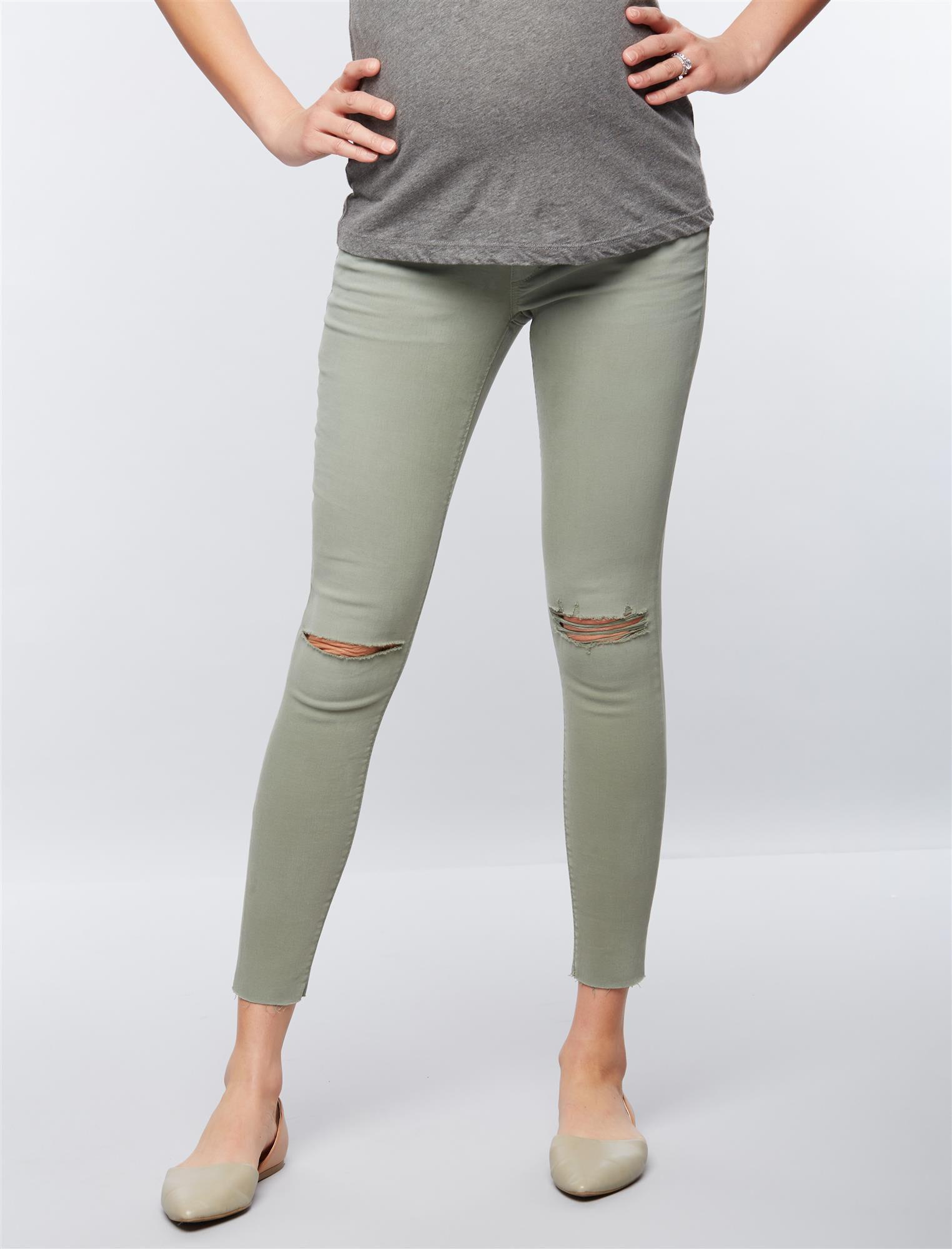 Joe's Jeans Secret Fit Belly Skinny Ankle Maternity Jeans