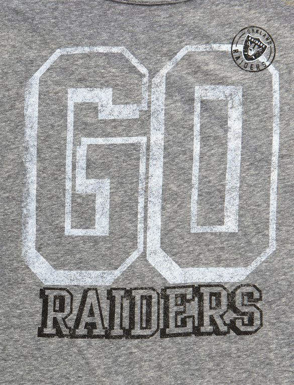 Oakland Raiders NFL GO Raiders Maternity T Shirt, Go Raiders!