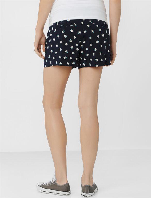 Secret Fit Belly Lightweight Maternity Shorts, Daisy