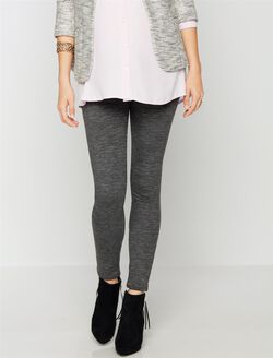 7 For All Mankind Secret Fit Belly Skinny Leg Maternity Pants, Heather Charcoal