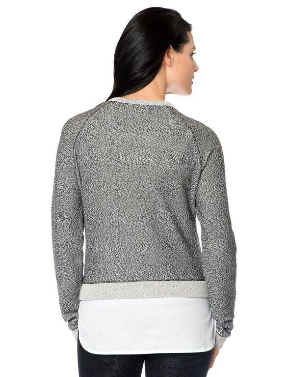 Bcbg Max Azria Raven Maternity Sweater, Black