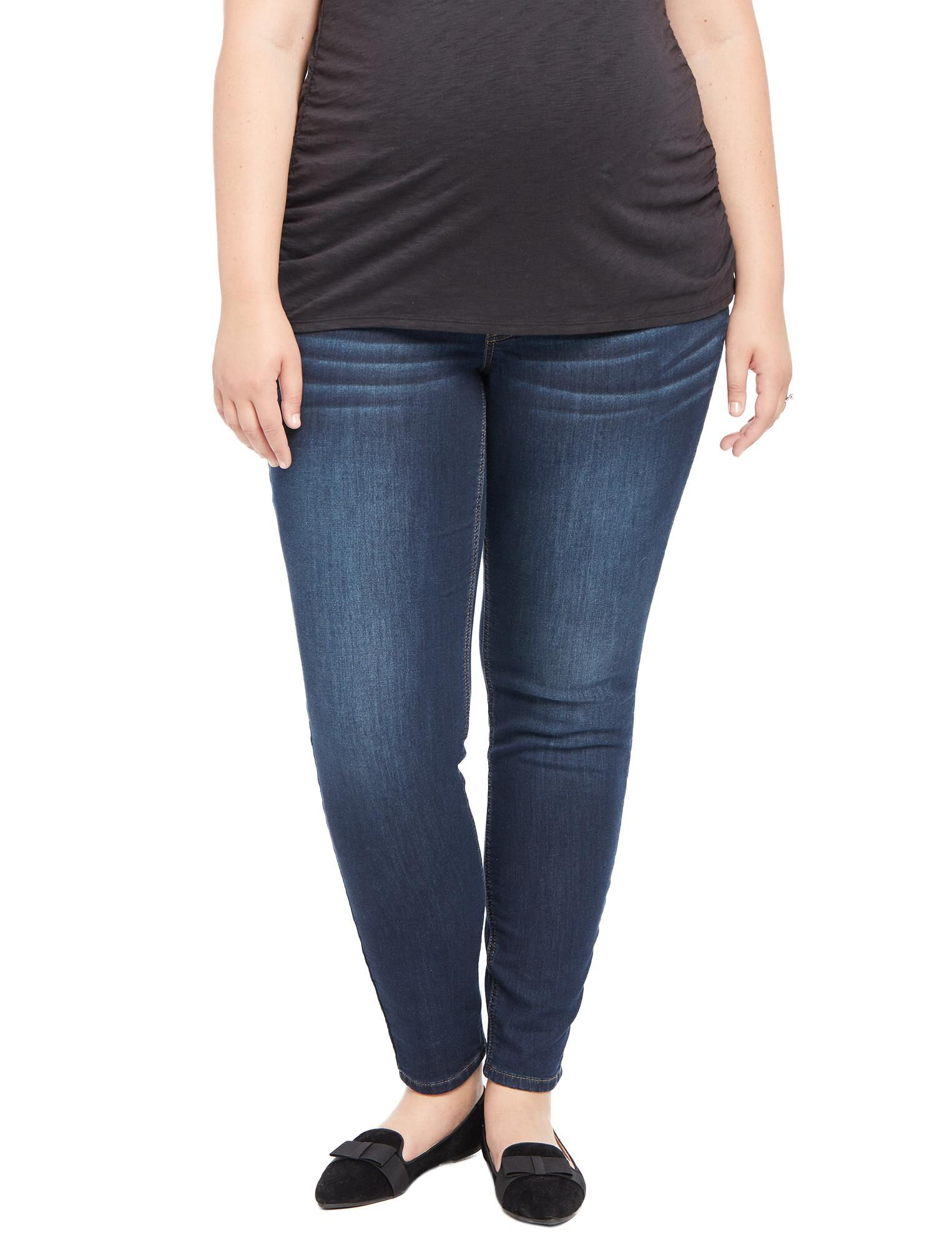 Plus Size Secret Fit Belly Jegging Maternity Jeans