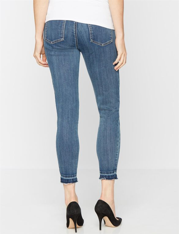 Luxe Essentials Denim Secret Fit Belly Kim Skinny Maternity Jean, Medium Wash