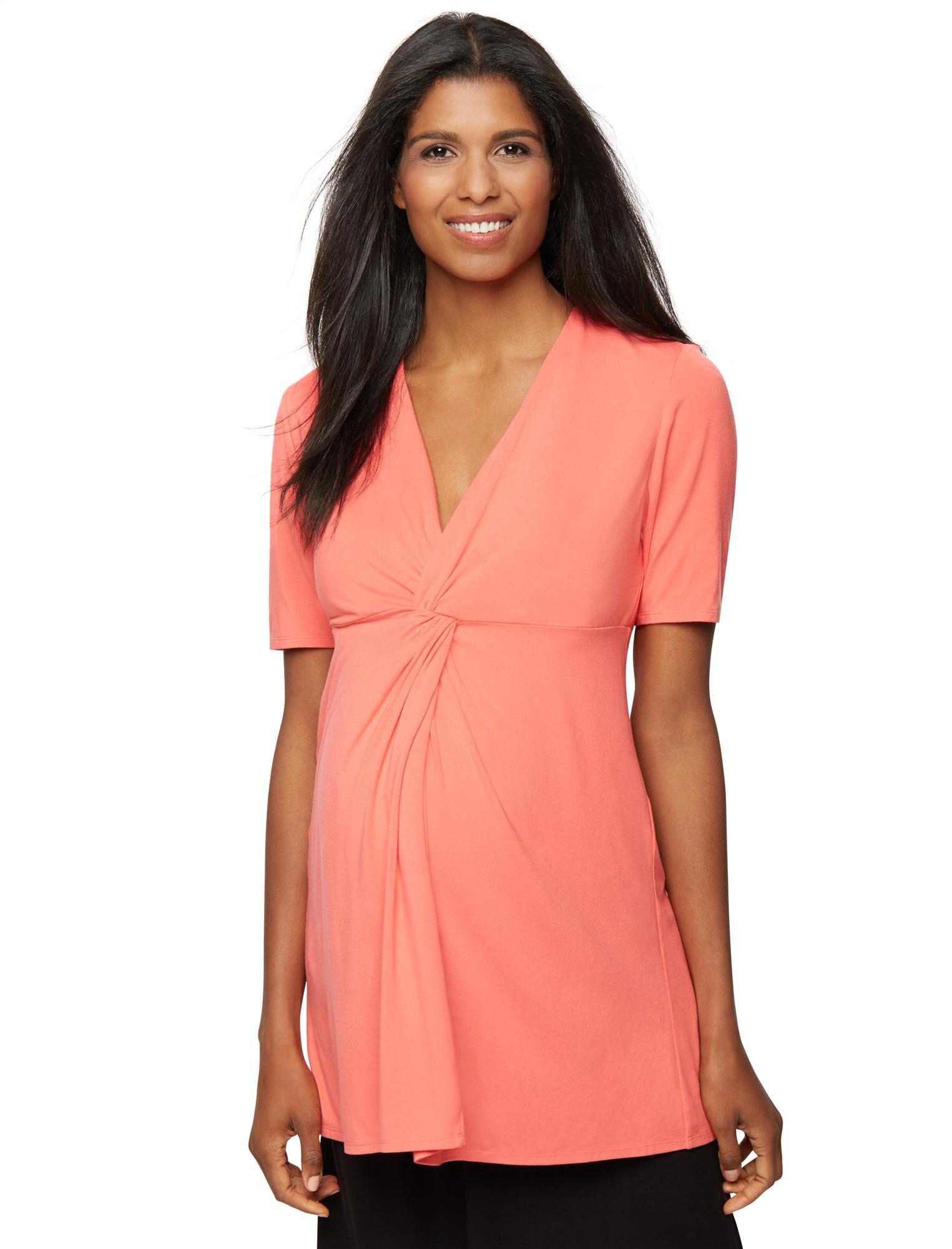 Rachel Zoe Soft Jersey Knit Maternity Top