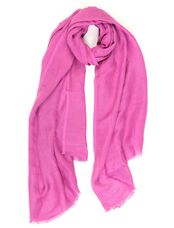 Solid Radiant Orchid Scarf By Bindya Accessories, Orchid
