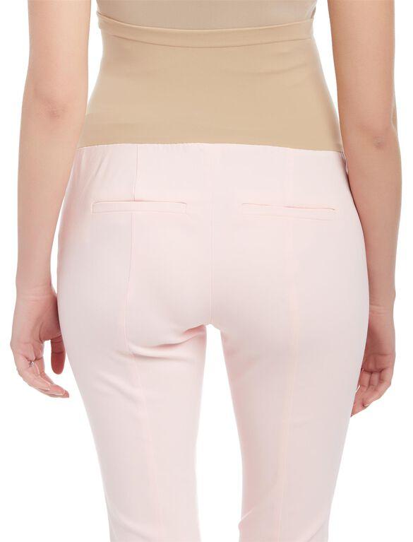 Secret Fit Belly Skinny Ankle Maternity Pants, Potpourri Pink