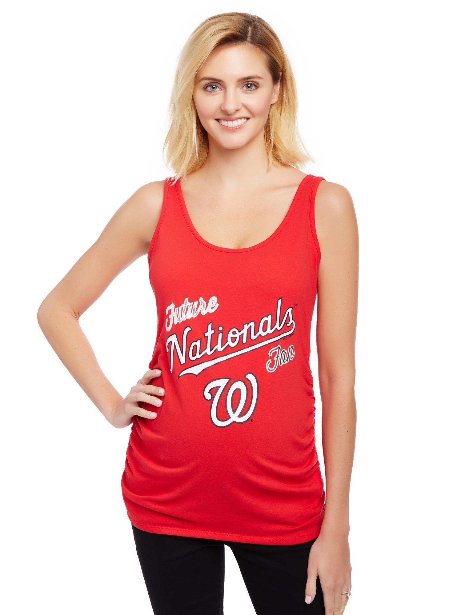 Washington Nationals MLB Future Fan Maternity Tank