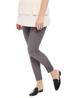 Secret Fit Belly Skinny Ankle Maternity Pants, Grey