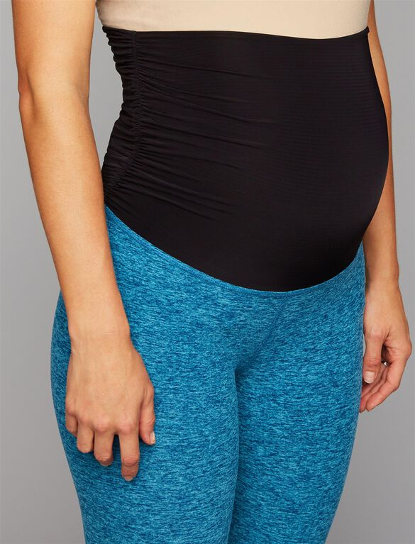 Beyond The Bump Maternity Leggings, Teal