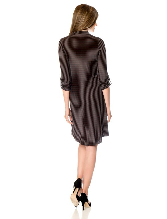 Rachel Pally Maternity Dress, Driftwood Stripe