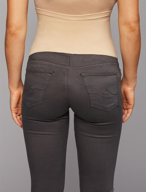 AG Secret Fit Belly Sateen Maternity Jeans- Grey, Grey