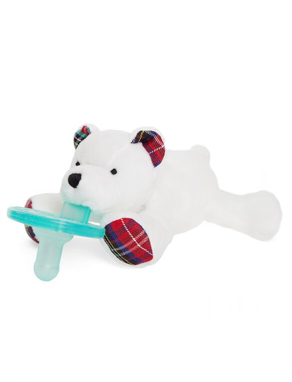 WubbaNub Polar Bear Infant Pacifier, Polar Bear