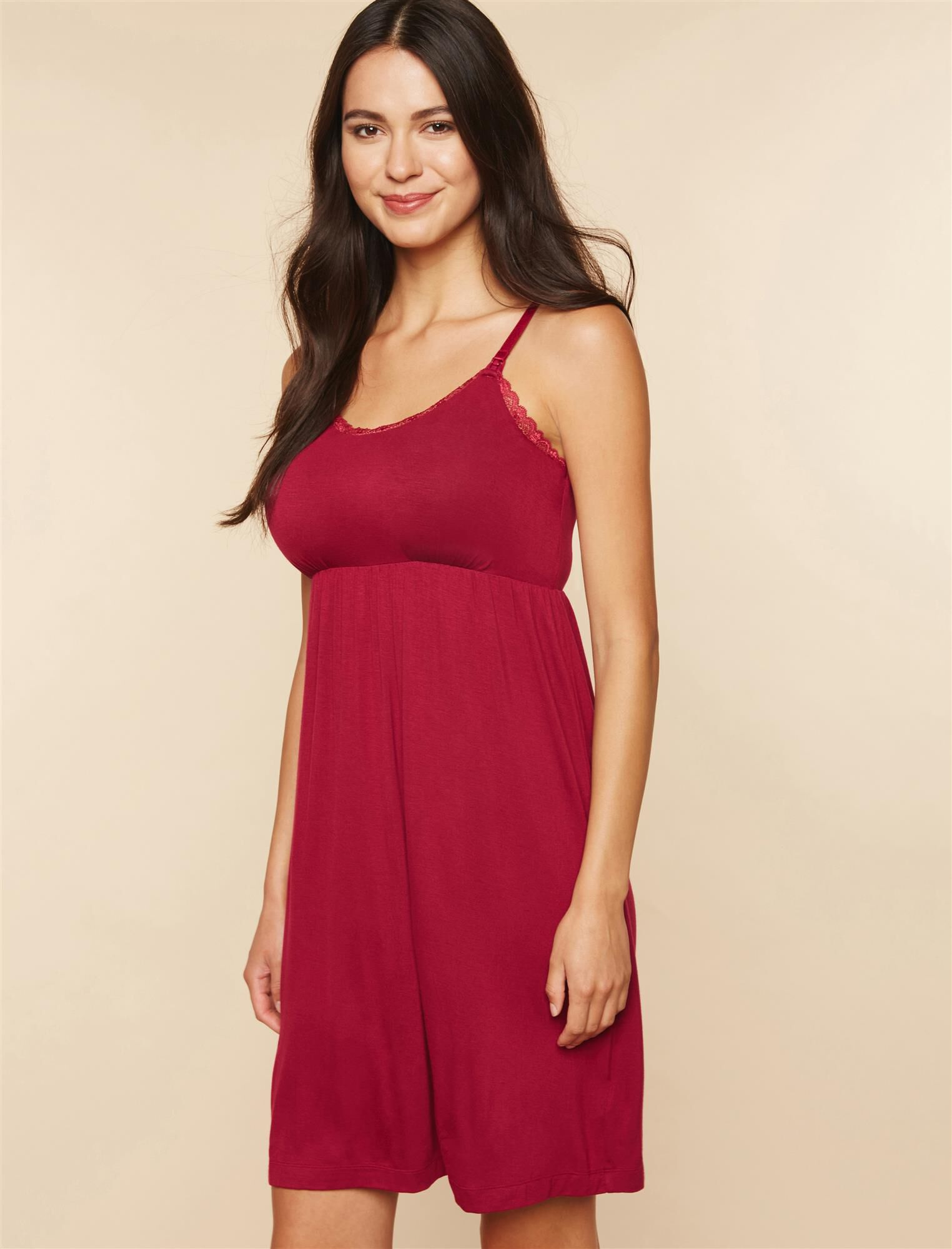 Web Only Bump In The Night Relaxed Fit Nursing Nightgown