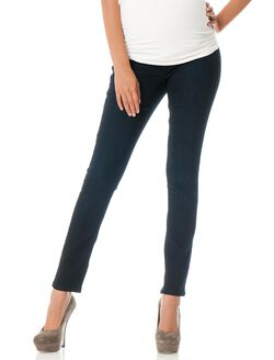 Fade To Blue Petite Secret Fit Belly Skinny Leg Maternity Jeans, Dark Wash