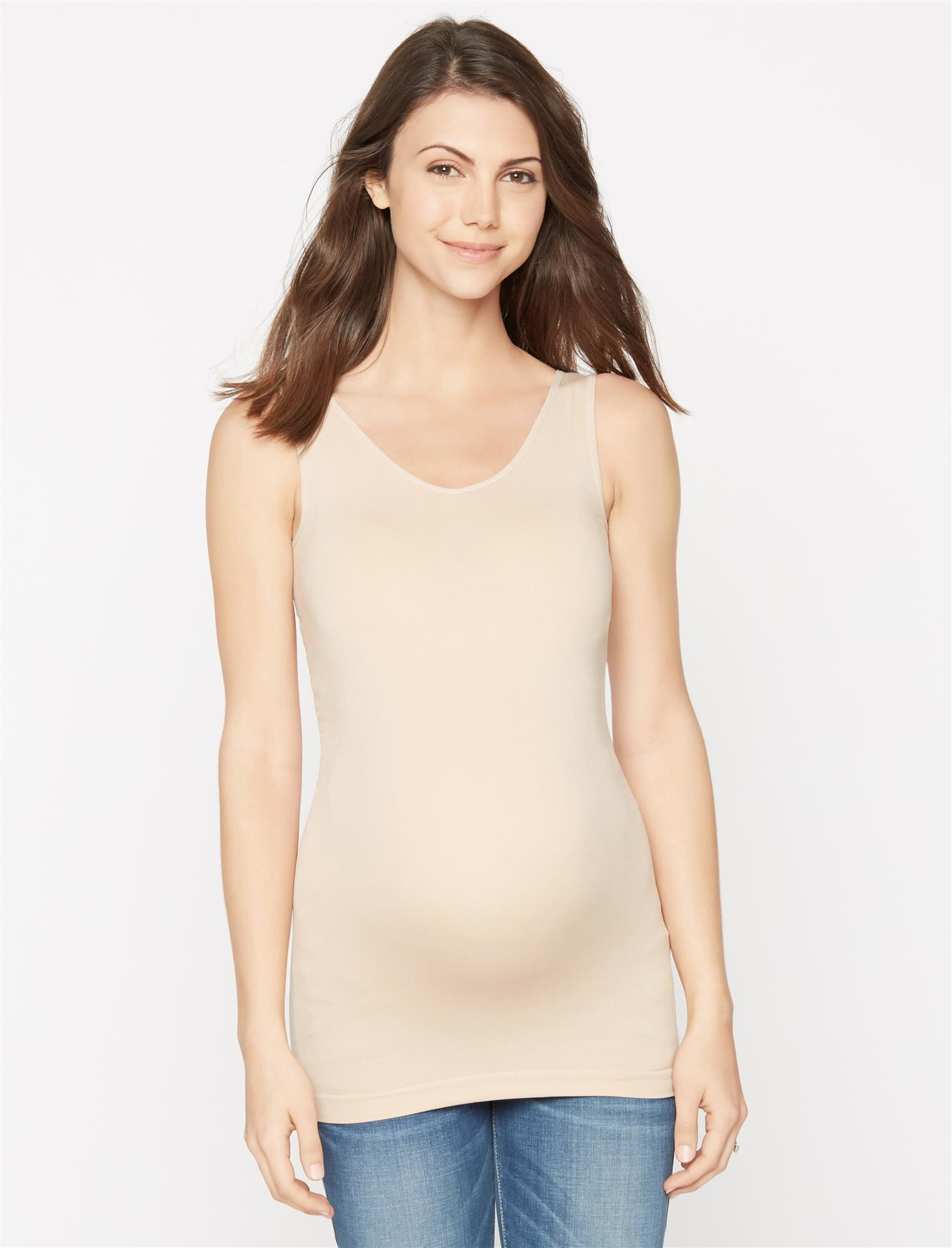 Seamless Reversible Maternity Tank