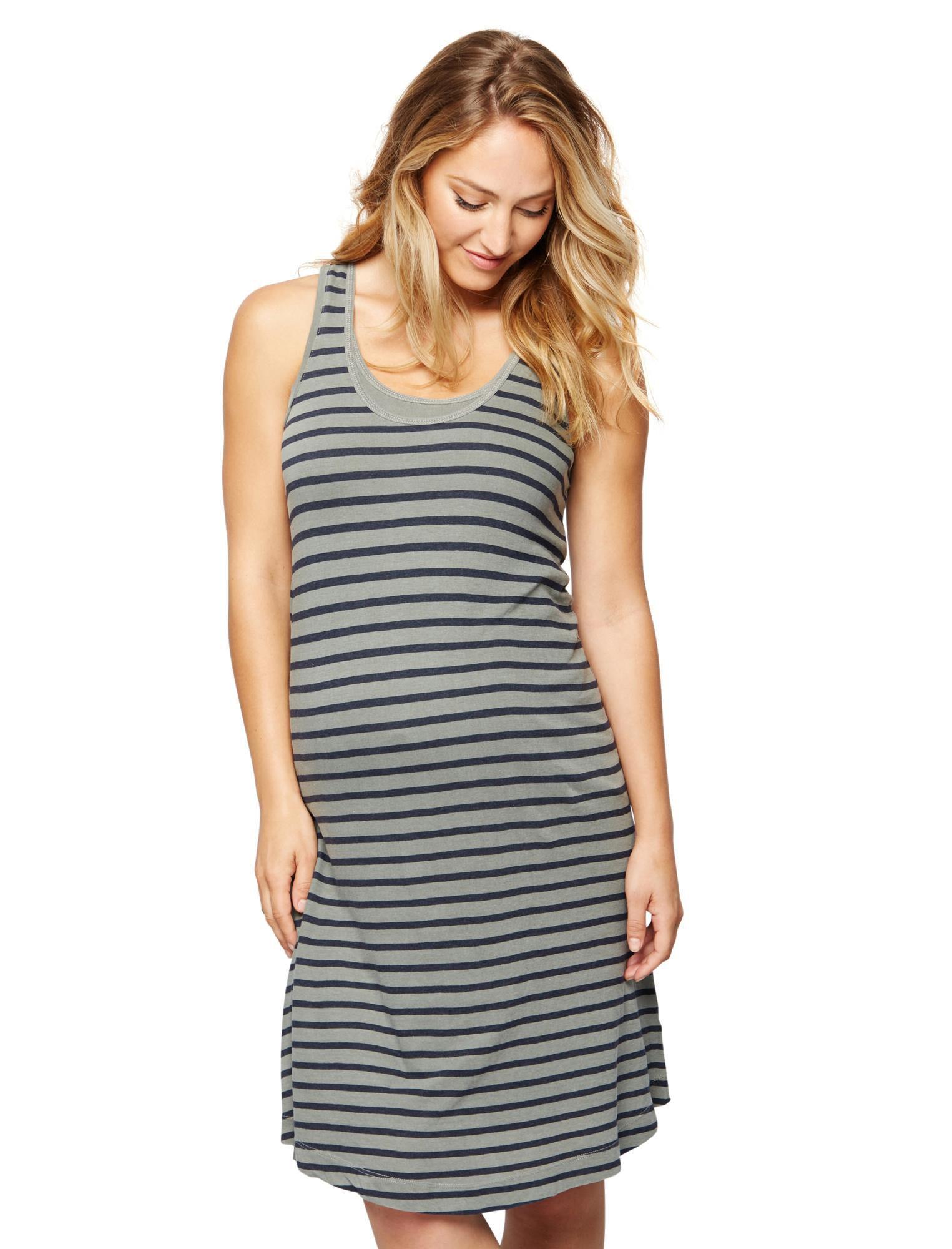 Splendid Tank Scoop Neck Maternity Dress