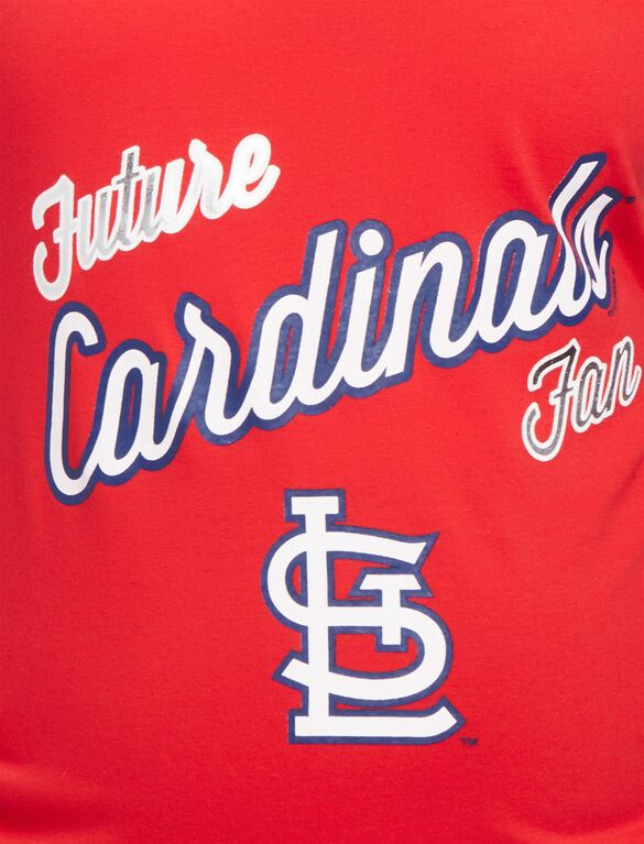 St. Louis Cardinals MLB Future Fan Maternity Tank, Cardinals Red