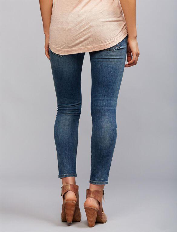 Secret Fit Belly Skinny Leg Maternity Jeans, Medium Wash