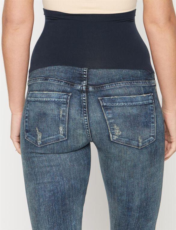 Avedon Secret Fit Belly Skinny Leg Maternity Jeans, Melbourne- Acid Wash