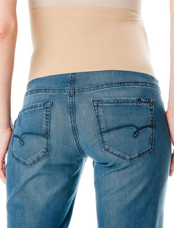 Cora Secret Fit Belly Wide Leg Maternity Jeans, Dark Wash