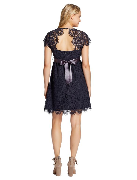Jessica Simpson Belted Maternity Dress, Navy