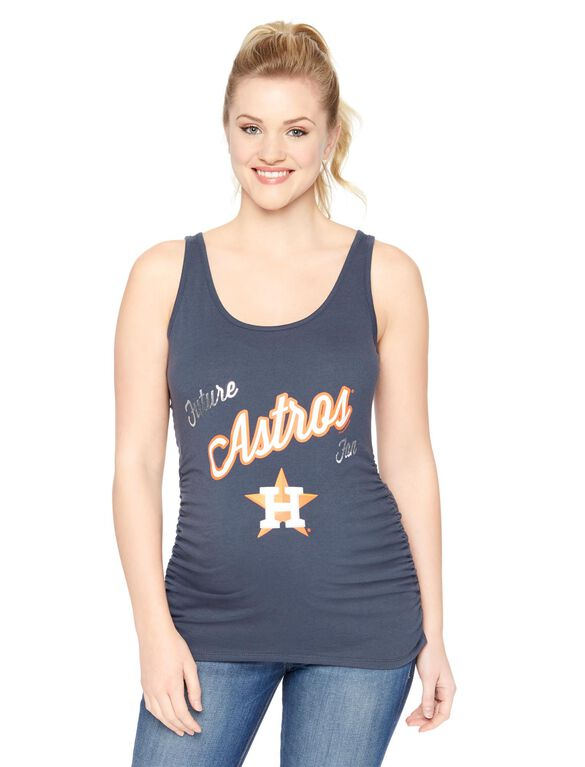 Houston Astros MLB Maternity Graphic Tank Top, Astros
