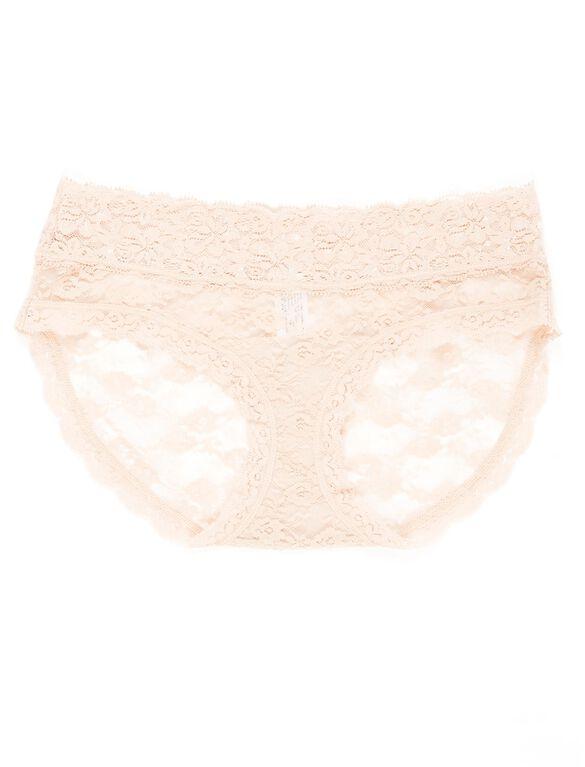 Lace Maternity Bikini Panties (single), Nude
