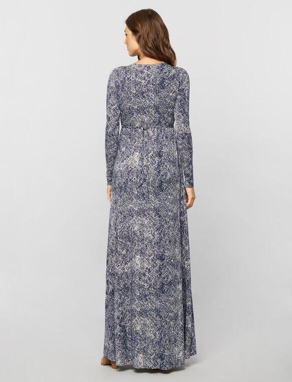 Rachel Pally Empire Waist Caftan Maternity Dress- Nightfall Print, Nightfall Print