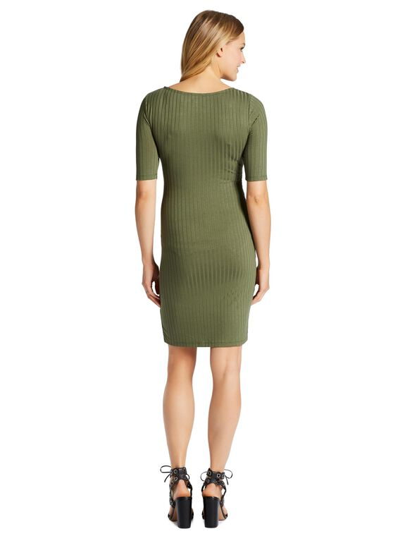 Jessica Simpson Cross Front Maternity Dress, Four Leaf Clover