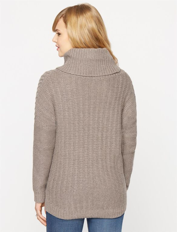 Splendid Maternity Sweater, Mink