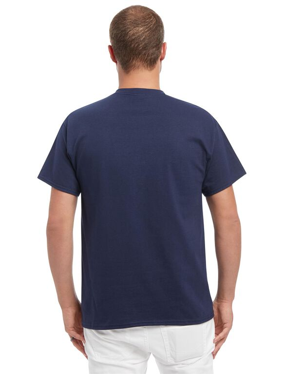 Men's Promoted To Daddy Graphic Tee- Navy, Navy