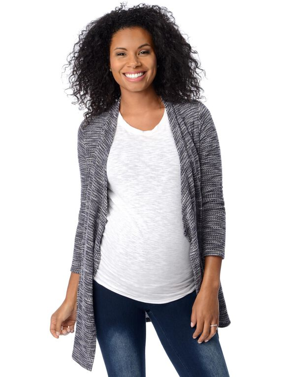 Swing Maternity Cardigan, Navy