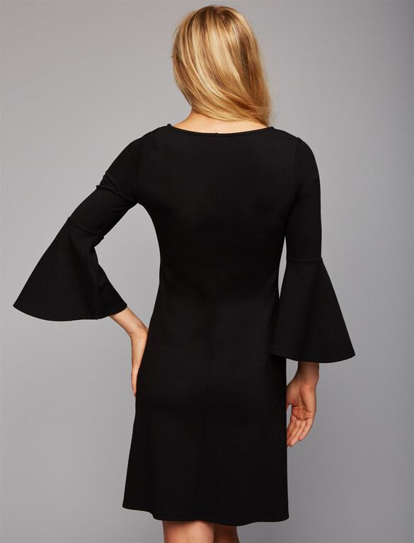 Isabella Oliver Natalia Maternity Dress, Black